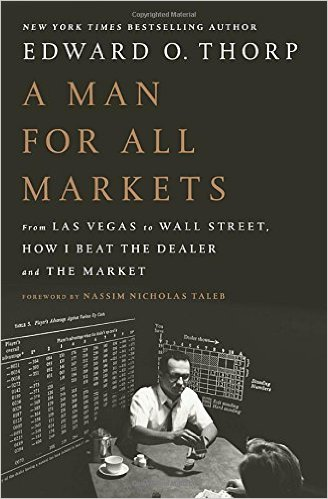 "Cover of Ed Thorp's ""A Man For All Markets"""